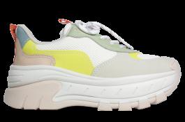 Imagem - Dad Sneaker Dakota Flatform Branco cód: 074236