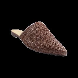 Imagem - Mule AnaCapri Tressê Marrom Chocolate cód: 079305