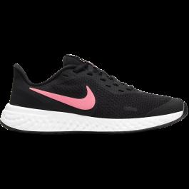Imagem - Nike Revolution 5 Preto e Rosa cód: 069721