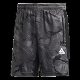 Imagem - Shorts Adidas Esportivo Camuflado Cinza Designed To Move Aeroready cód: 080559