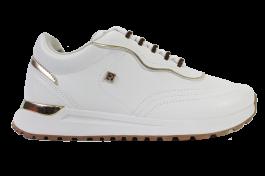Imagem - Tênis Casual Ramarim Sneaker Branco Dourado cód: 076349