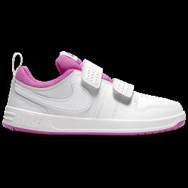Imagem - Tênis Infantil Nike Pico 5 Branco e Rosa cód: 073391