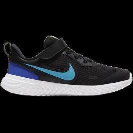 Imagem - Tênis Infantil Nike Revolution 5 Preto Azul cód: 073692