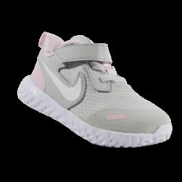 Imagem - Tênis Infantil Nike Revolution 5 Cinza Rosa cód: 078109