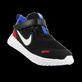 Imagem - Tênis Infantil Nike Revolution 5 Preto Vermelho Azul cód: 078512