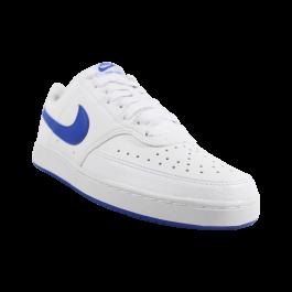 Imagem - Tênis Masculino Nike Court Vision Low Branco Azul cód: 079192