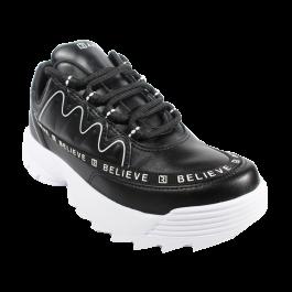 Imagem - Tênis Ramarim Chunky Sneaker Believe Preto Branco  cód: 077756