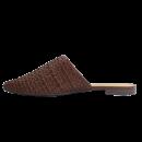 Mule AnaCapri Tressê Marrom Chocolate 3