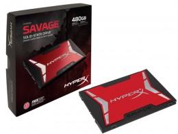 Imagem - SSD Savage 480GB SATA III 6Gb/s SHSS37A/480G - HyperX