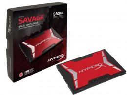 Imagem - SSD Savage 960GB SATA III 6Gb/s SHSS37A/960G - HyperX