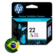 Imagem - Cartucho de Tinta Standard HP 22 Colorido 6ML C9352AB - HP