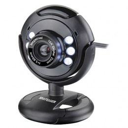Imagem - Webcam Night Vision 16mp (Interpolado) WC045 - Multilaser