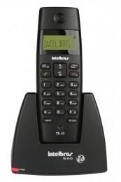Imagem - Telefone sem Fio Dect 6.0 4070350 TS40 Bivolt com Id de Chamadas - Intelbras Icon