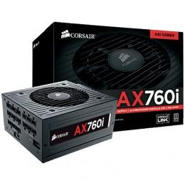 Imagem - Fonte Corsair 760W AX760i Digital ATX Power Supply 80 Plus Platinum CP-9020036-NA - Corsair