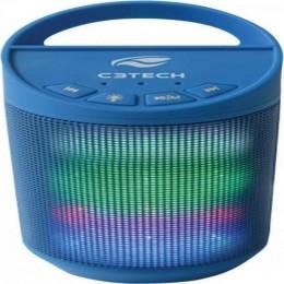 Imagem - Caixa Multimídia 8W RMS Bluetooth SP-B50 Azul - C3Tech