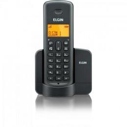 Imagem - Telefone sem Fio com ID TSF-8001 Preto - Elgin