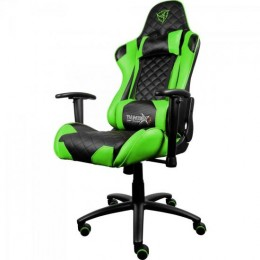 Imagem - Cadeira Gamer Profissional TGC12 Preta/Verde - THUNDERX3