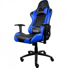 Imagem - Cadeira Gamer Profissional TGC12 Preta/Azul - THUNDERX3