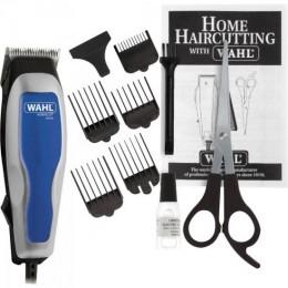 Imagem - Máquina de Corte 220V Home Cut Basic Prata/Azul - WAHL