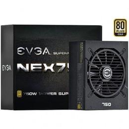 Imagem - Fonte ATX Modular 750W Real SuperNOVA 80 Plus Gold 120-G1-0750-XR - EVGA