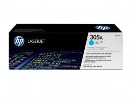 Imagem - Toner Laserjet Color HP 305A Ciano CE411A - HP