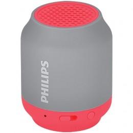 Imagem - Caixa de Som Bluetooth Wireless Portátil BT50GX/78 Vermelho e Cinza - Philips