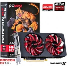 Imagem - Placa de Vídeo AMD Radeon R7 265 Hammer X Dual-Fan 2GB GDRR5 256Bits O265QM2G2M - Pcyes