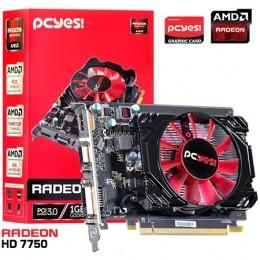 Imagem - Placa de Video AMD RADEON HD 7750 1GB GDDR5 128 Bits O775PFB15R - Pcyes