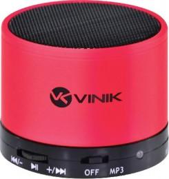 Imagem - Caixa de Som Bluetooth/Fm/Microsd/Mic 3 W Rms Musicbox Vermelho - Vinik