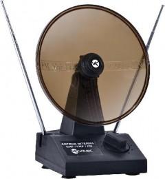 Imagem - Antena com Parabólica para TV VHF/UHF/FM Digital/Analógica - Vinik