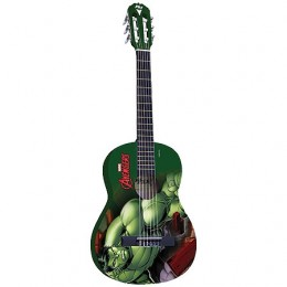 Imagem - Violão Acústica Nylon Infantil Marvel Hulk VIM-H1 - PHX