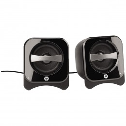 Imagem - Caixas de Som 2.0 Compact Speakers Black 2 Channel BR387AA - Hp