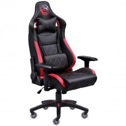 Imagem - Cadeira Gamer Mad Racer V10 Preto com Detalhes em Vermelho e Rodas em Gel  MADV10VMGL - Pcyes