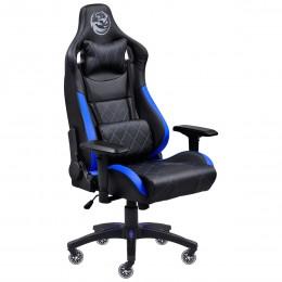 Imagem - Cadeira Gamer Mad Racer V10 Preto com Detalhes em Azul e Rodas em Gel MADV10AZGL - Pcyes