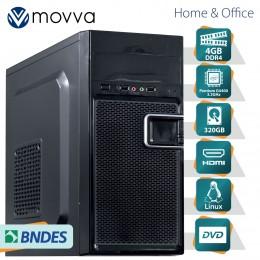 Imagem - Computador Lite Intel Pentium Dual Core G4400 6ª 4gb Hd 320gb Dvd-Rw Fonte 200w Linux - Moova