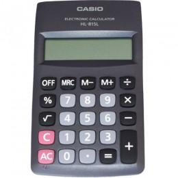 Imagem - Calculadora de Bolso Preta 8 Dígitos HL815L - Casio