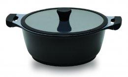 Imagem - Caçarola Premium 4.5 24cm Revestimento Ceramico Indução ECO-851 Preto - Ecolumi