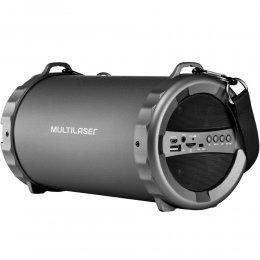 Imagem - Caixa de Som Bazooka Usb/Sd/Fm/Bt 20w com Bateria Interna SP233 - Multilaser
