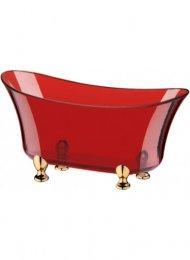 Imagem - Champanheira Banheira Pequena 19cm Vermelha Translúcida 16730.2 - Boccati