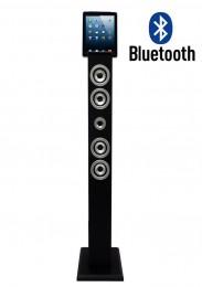 Imagem - Dock Station Smartphone Tower Bluetooth, Entrada Aux. e Saída Áudio e Vídeo Preto 130W - Vizio