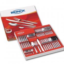 Imagem - Faqueiro Siena 42 Peças Inox 5109/120 - Brinox