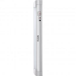 Imagem - Iluminação de Emergência Tubular C/30 LEDs 4W Bivolt Branco Frio - Elgin