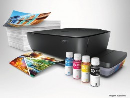 Imagem - Impressora Multifuncional Deskjet Color Ink GT 5822 Tanque Tinta Imp/copia/dig/wifi 20ppm - HP