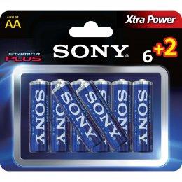Imagem - Pilha Alcalina AA Stamina Plus AM3-B6X2D - Sony