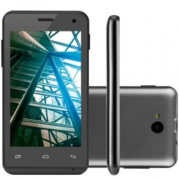 Imagem - Smartphone MS40 P9007,Quad Core, 4Gb, Dual Chip, Preto - Multilaser