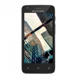 Imagem - Smartphone MS45S Colors P9011,Quad Core, 8GB, Dual Chip, Preto - Multilaser