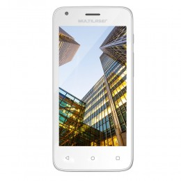 Imagem - Smartphone MS45S Colors P9012, Quad Core, 8GB, Dual Chip, Branco - Multilaser