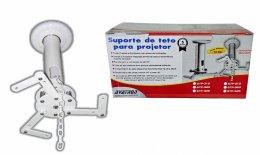 Imagem - Suporte de Teto para Projetores com Dispositivo Anti-Furto STP-525-W Branco - Avatron