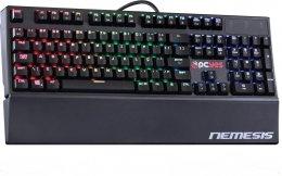 Imagem - Teclado Gamer Mecanico Nemesis com LED RGB - Pcyes