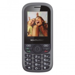 Imagem - Telefone Celular Up Dual P3292,Dual Chip, Camera, MP3, Bluetooth Preto/Cinza - Multilaser